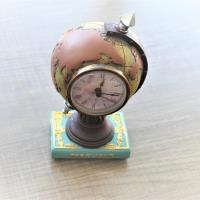 Antica Acrylic map with a clock
